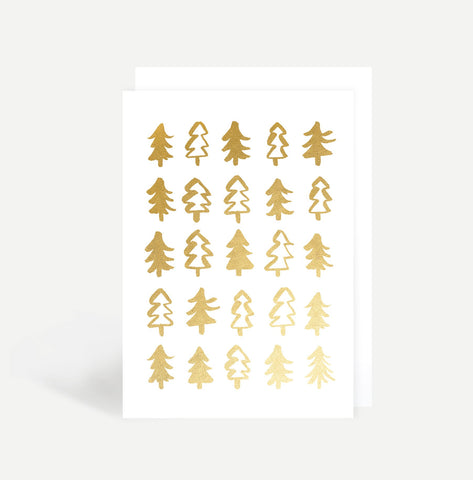 Christmas Trees Card