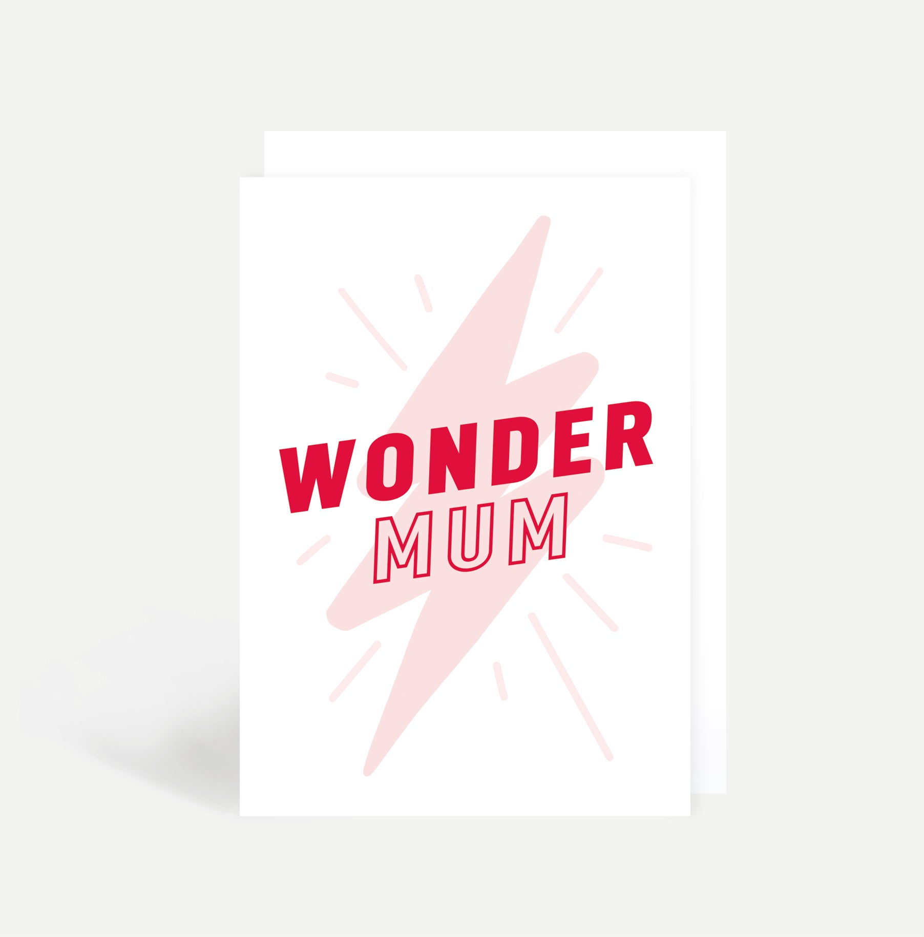Wonder Mum Card