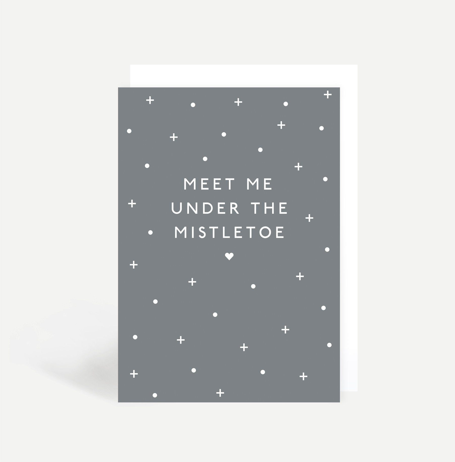 Meet Me Under The Mistletoe Card