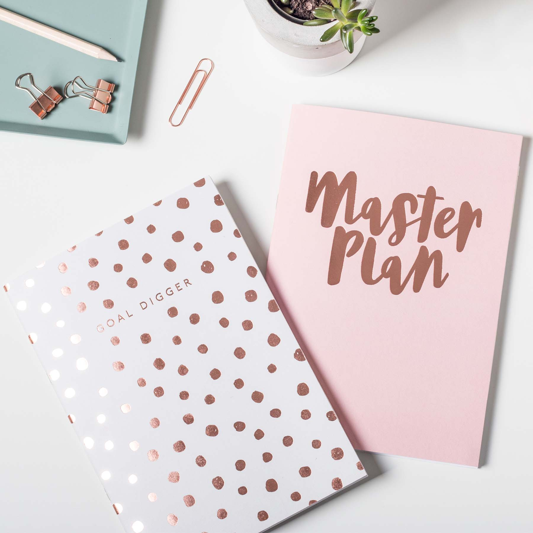 Master Plan Notebook Set