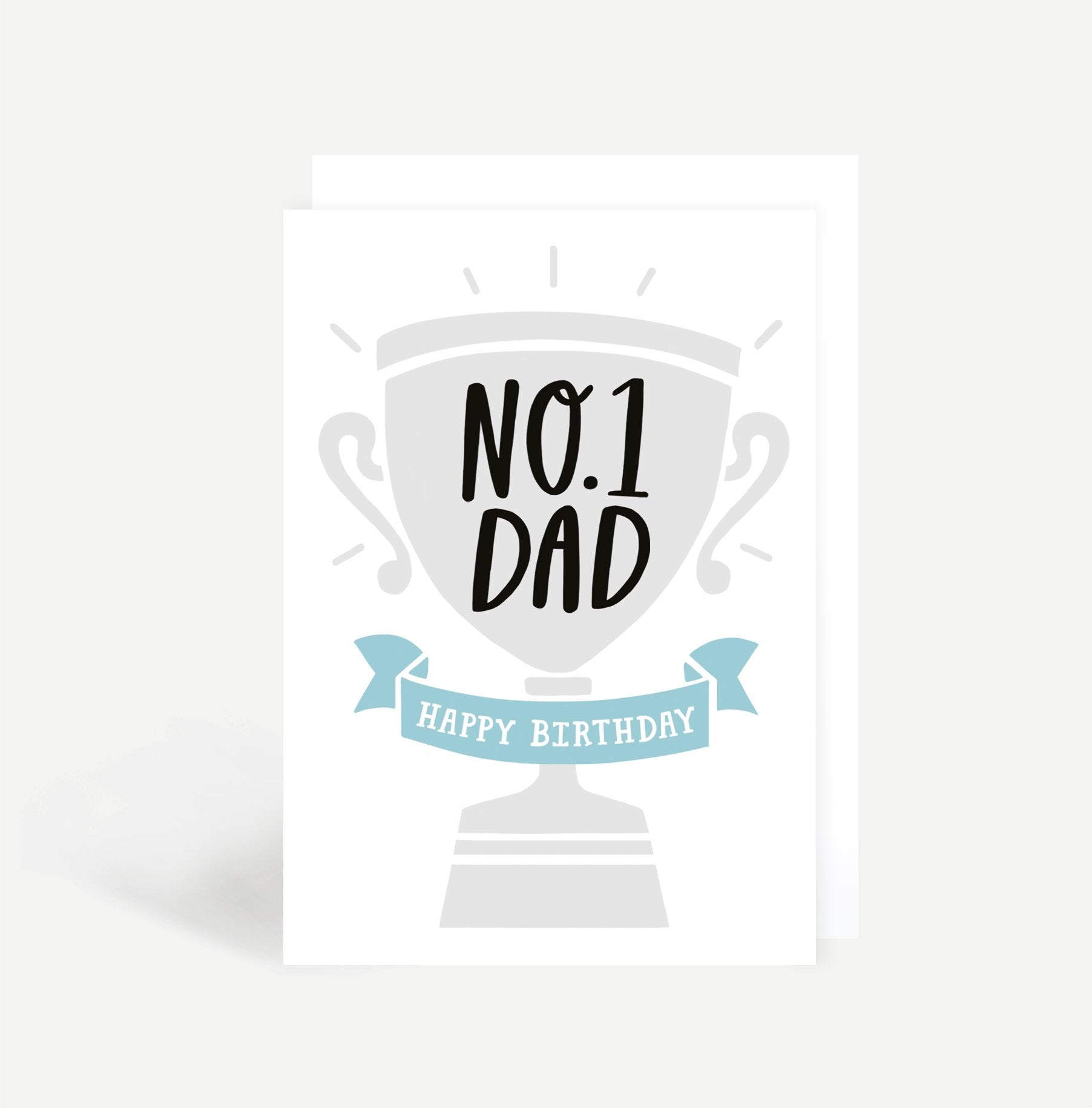 No.1 Dad Card