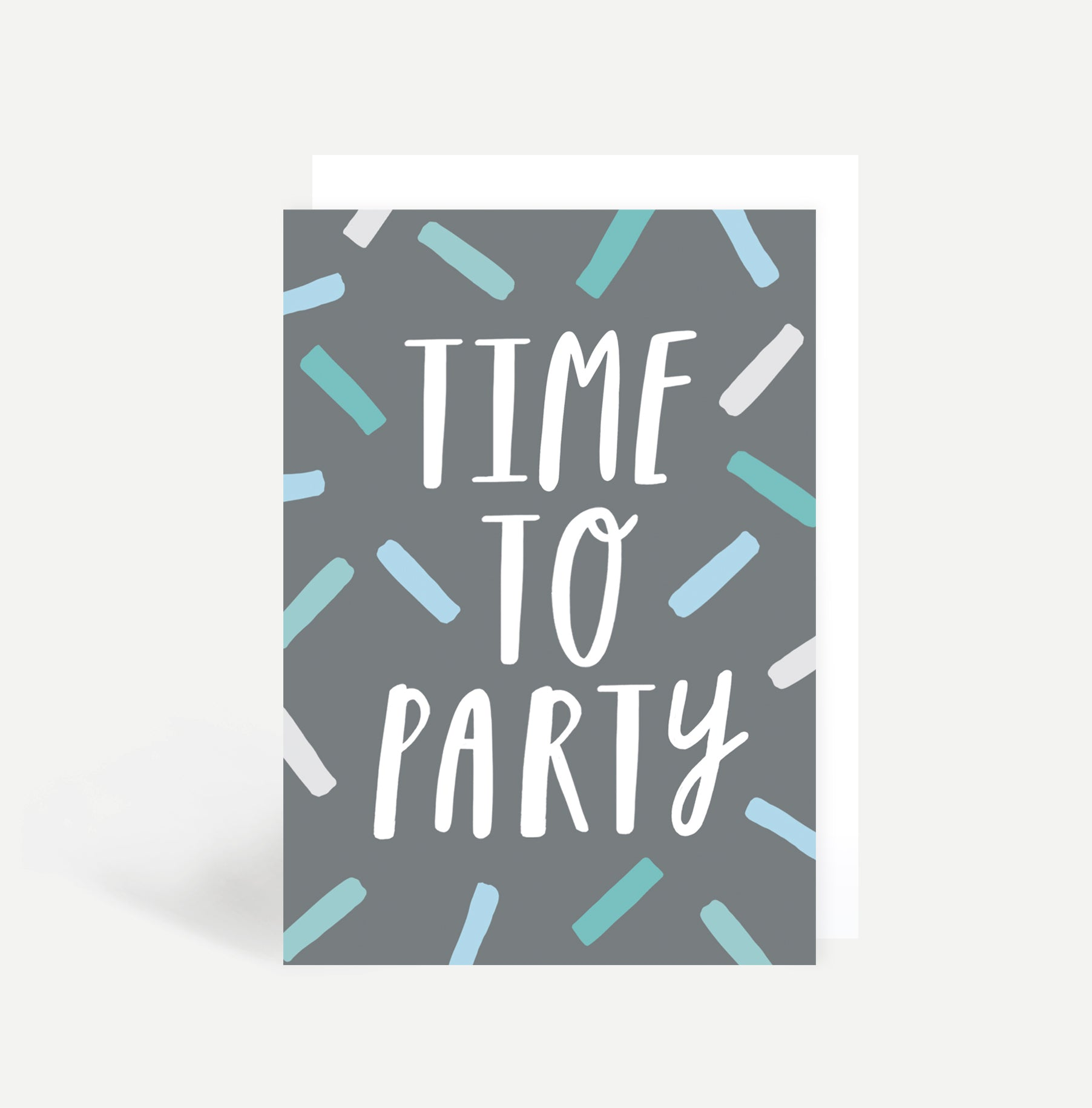 Time To Party Greetings Card