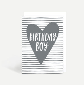 Birthday Boy Greetings Card