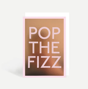 Pop The Fizz Card