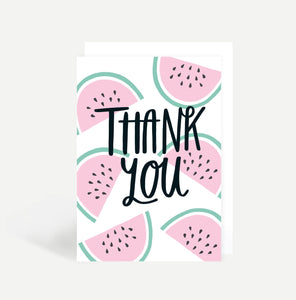 Watermelon Thank You Card
