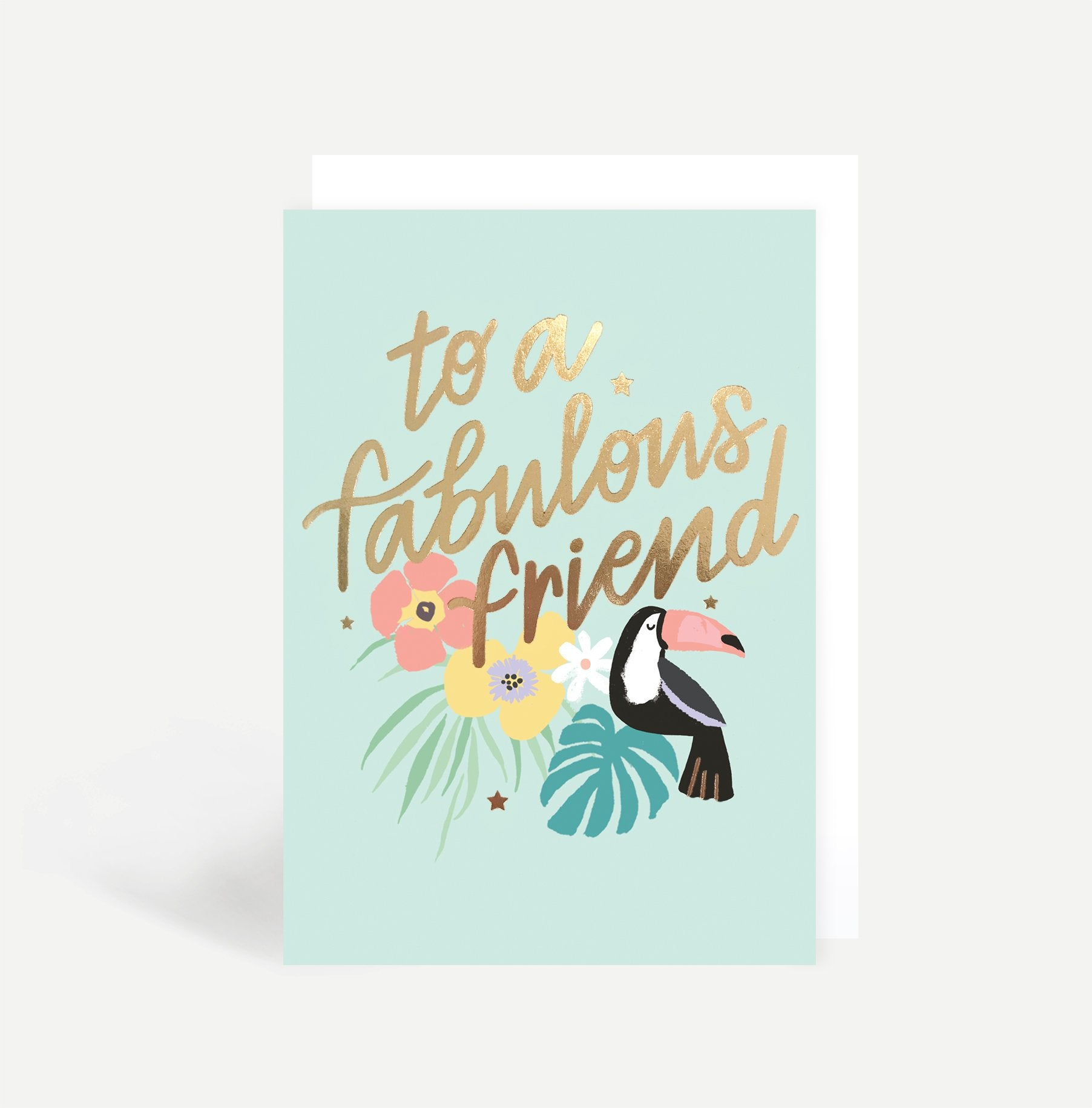 To A Fabulous Friend Card