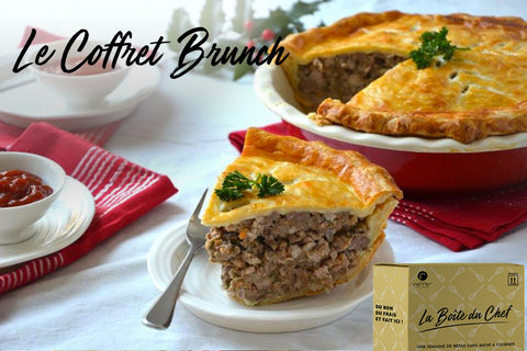 Le Coffret Brunch + 1 carte cadeau on double la mise