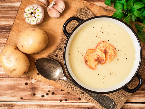 Potage parmentier au bacon et panais (500ml)