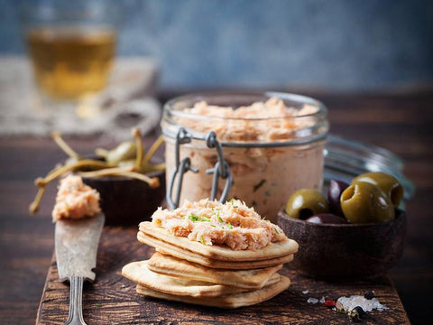 Rillettes de saumon à l'érable