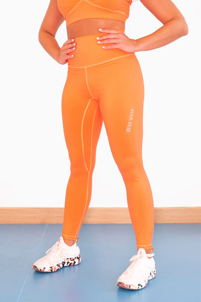 Tangeringe Orange Leggings
