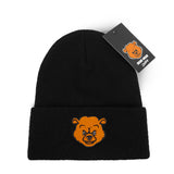 Bear Wear - Black Beanie