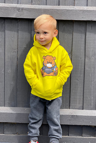 Lemon Kids Bear Wear & Chill Hoodie