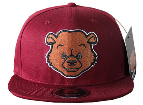Bear Wear - Maroon Snapback