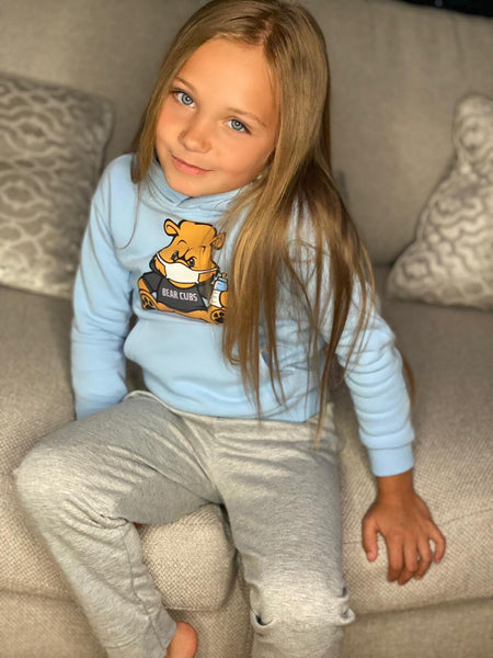 Blue Bear Wear & Chill Kids Hoodie