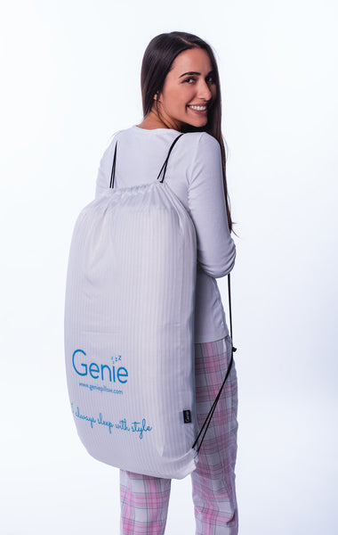 Genie travel bag for your Genie comfort pillow