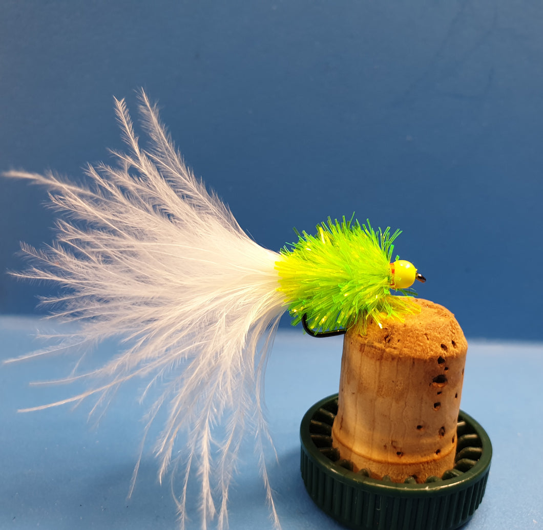 The Original F-UP Lure - Pyramid Lake Special White Tail Gold Bead