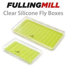 Fulling Mill Clear Silicon Fly Boxes