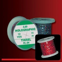 Hends Red Holographic Tinsel