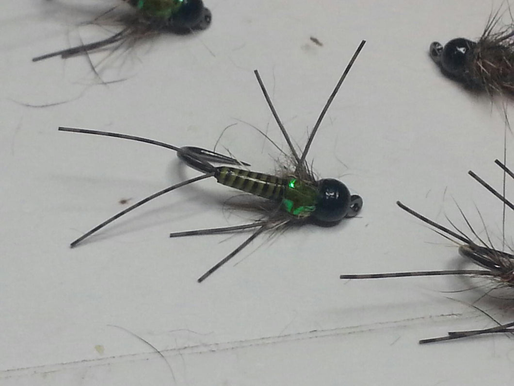 Stripped Quill Rubber Leg Nymphs