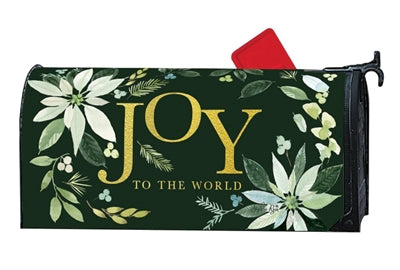 Poinsettia Joy Mailbox Wrap