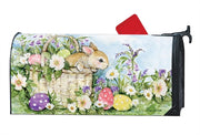 Easter Bunny Basket Mailbox Wrap