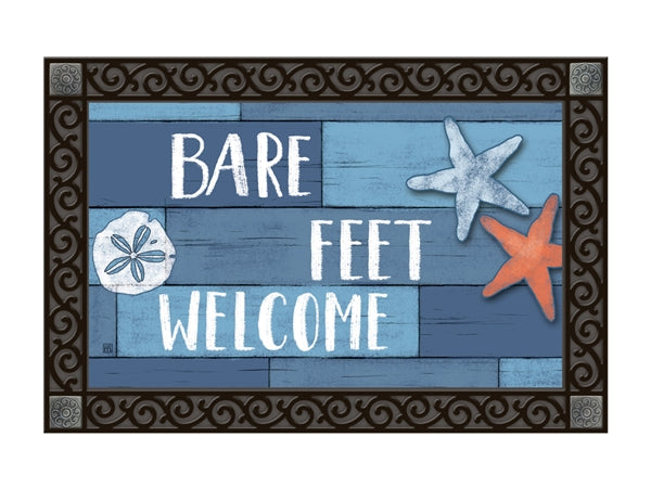 Bare Feet Welcome MatMate Insert