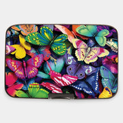 Painted Butterfly Collage Armored Wallet