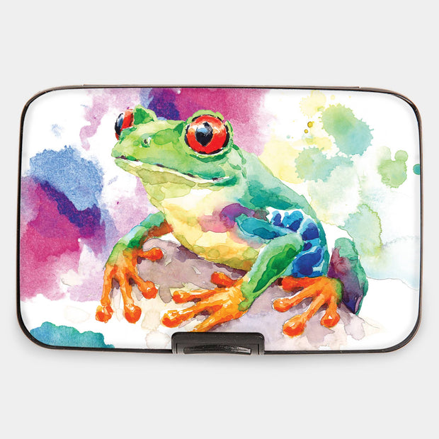 Red Eyed Tree Frog Armored Wallet