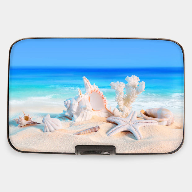 Sea Shells Armored Wallet