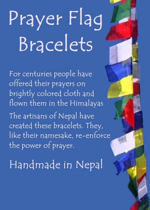 Prayer Flags Bracelets Story Card