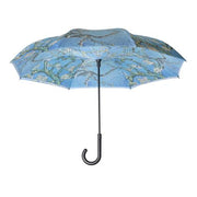 "Monet ""Almond Blossom"" Reverse Close Umbrella"