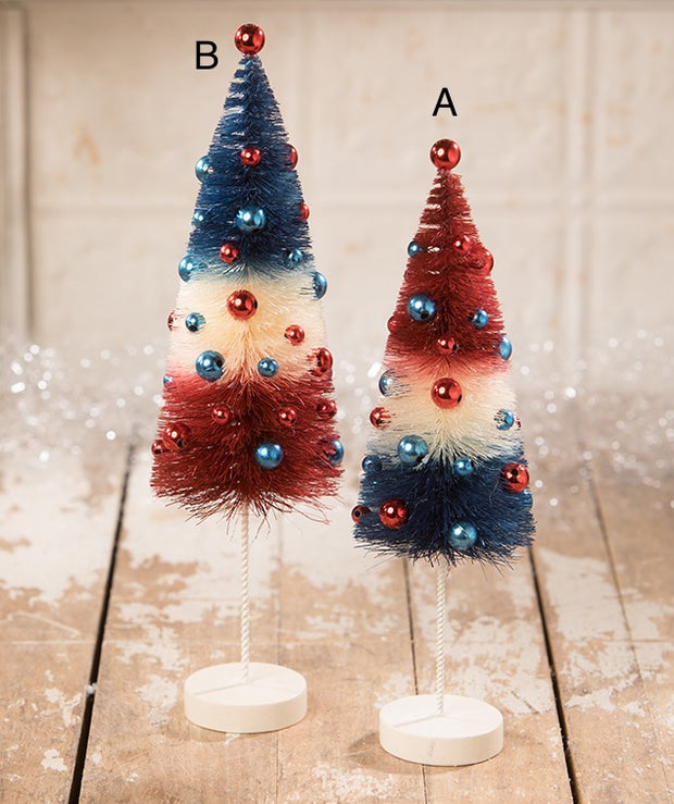 Americana Rocket Bottle Brush Trees