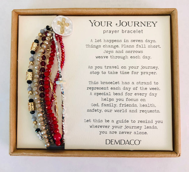 Your Journey Prayer Bracelets