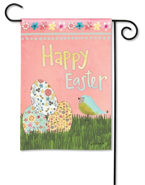 Easter Eggs Garden Flag