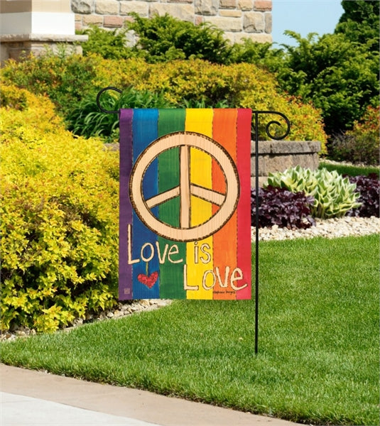 Love is Love Garden Flag
