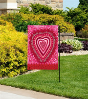 Sweet Hearts Garden Flag