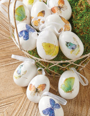Butterfly Egg Ornaments
