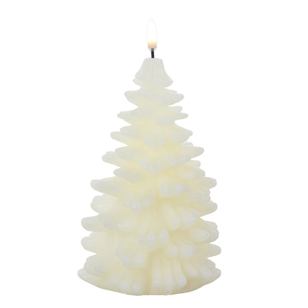 Ivory Christmas Tree Candle