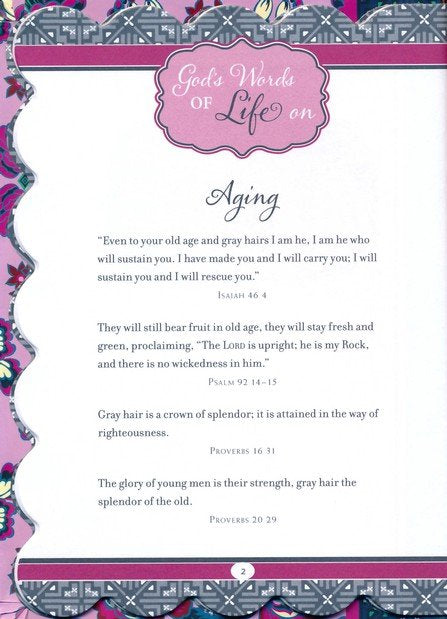 God's Words of Life for Grandmothers