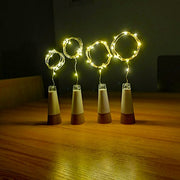 USB Rechargeable Wine Bottle Light String