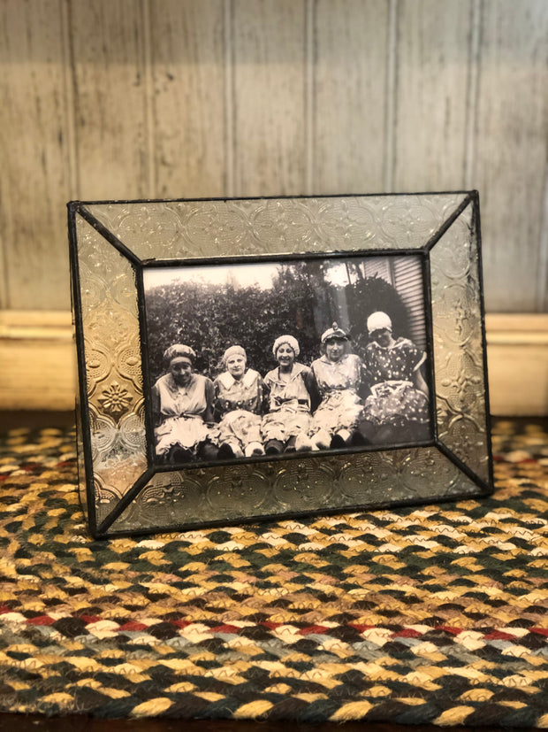 Vintage Glass Picture Frame