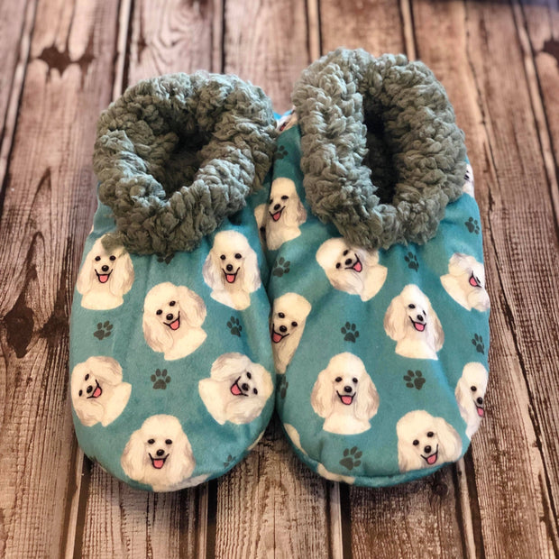 E&S Pets Poodle Comfies Pet Slippers