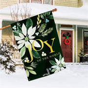 Poinsettia Joy Standard Flag