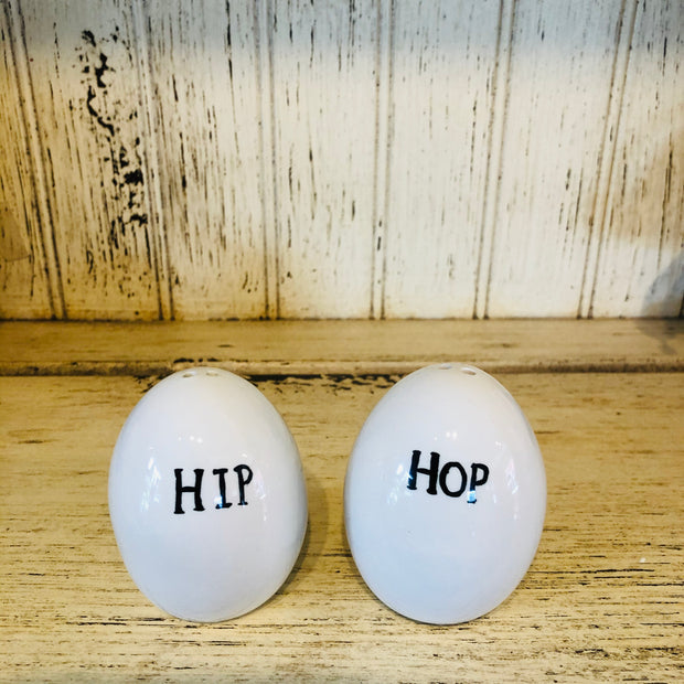 Hip/Hop Salt & Pepper Shaker Set