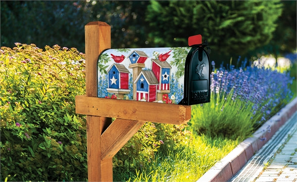 Studio-M All American Birdhouse Mailbox Wrap