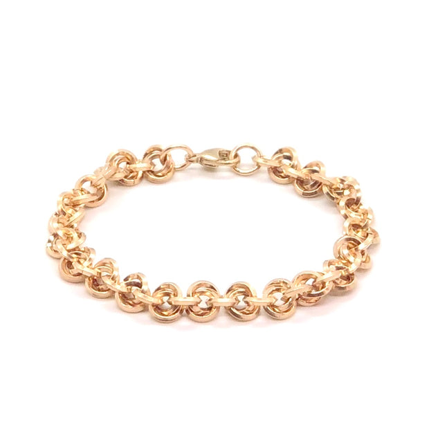 Chez Cloucez 14 Kt Gold-Fill Chain Bracelet