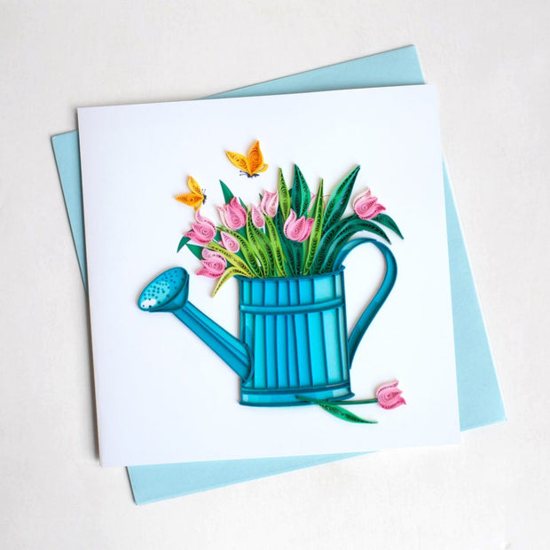 Happy Gardening Quilling Card