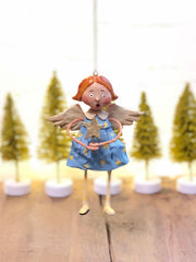 Babes in Toyland Ornament, girl by Lori Mitchell