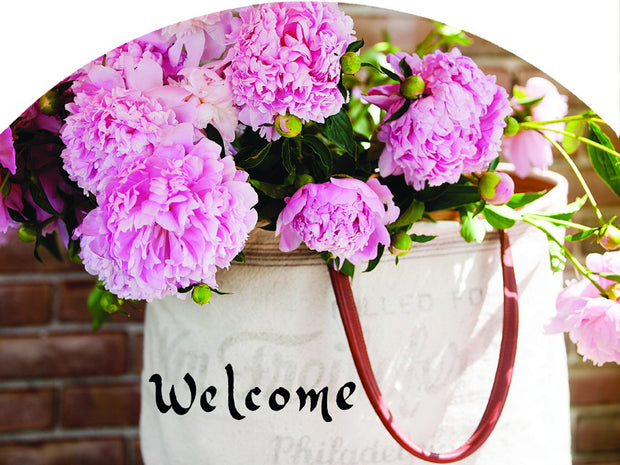 Bag of Peonies Garden Sign