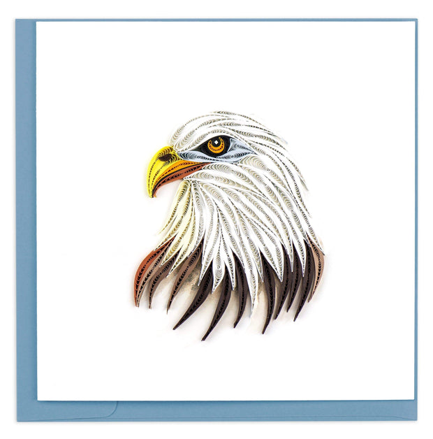 Bald Eagle Quilling Card